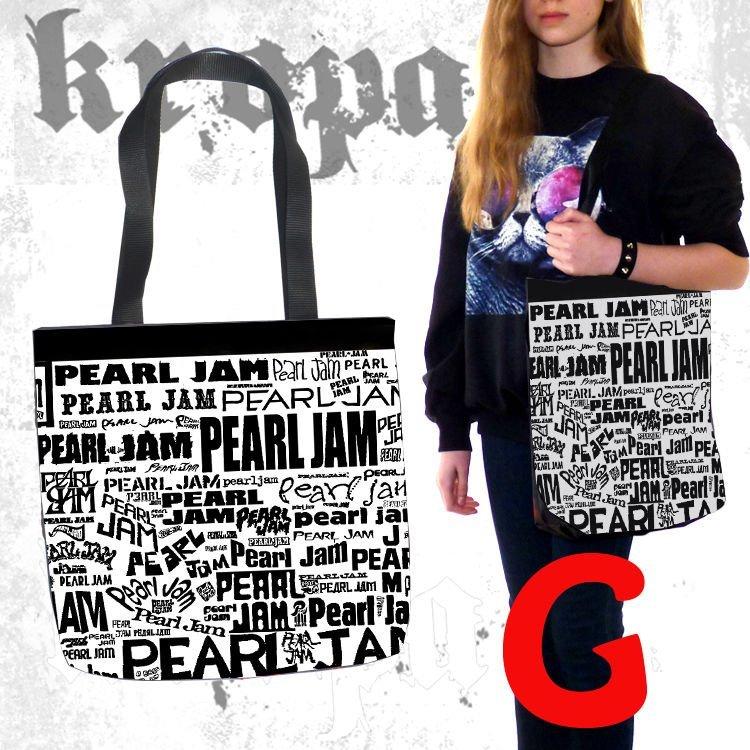 e582ceb1a16ea0 Torba na ramię PEARL JAM | TORBY SHOPPERKI LUX \ Muzyczne | koszulki,  bluzy, naszywki ..::KROPA.PL::.. rock, metal, punk
