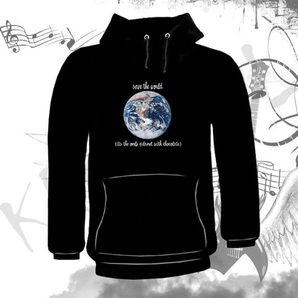 Bluza kangurka  SAVE THE WORLD