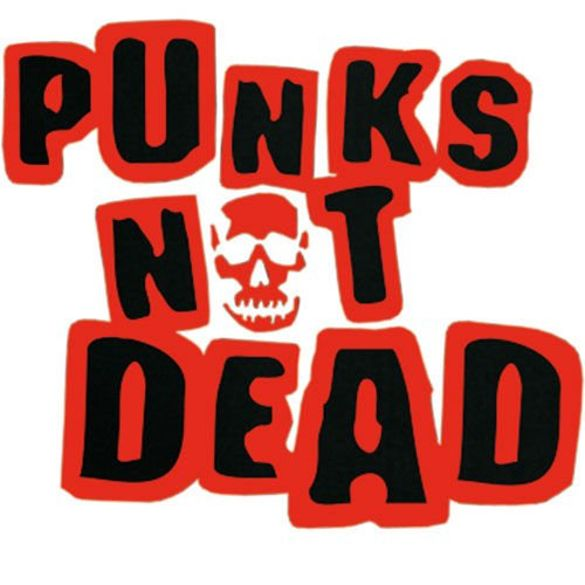 Long Sleeve PUNKS NOT DEAD