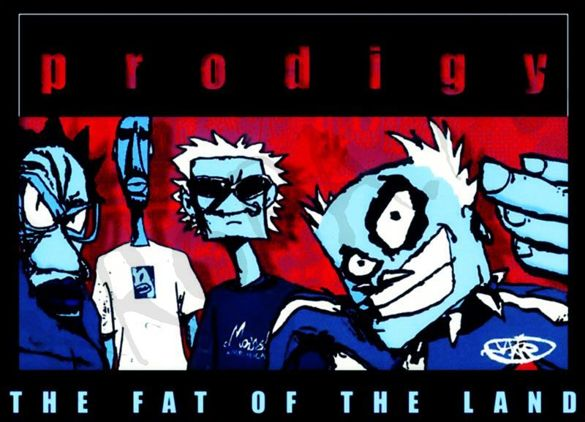 Koszulka bez rękawów THE PRODIGY - THE FAT OF THE LAND 01