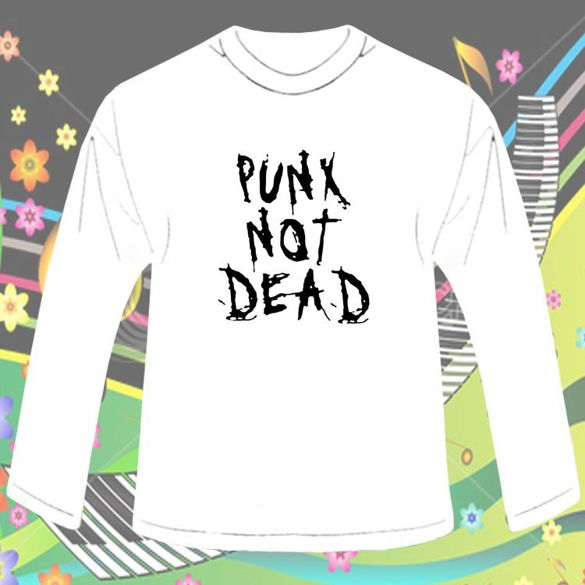 Long Sleeve PUNX NOT DEAD - 02