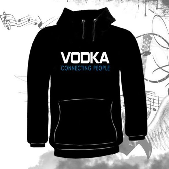 Bluza kangurka VODKA - CONNECTING PEOPLE