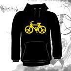 Bluza kangurka  BIKE OF PEACE