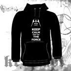 Bluza kangurka KEEP CALM AND USE THE FORCE