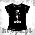 Bluzka damska DARTH VADER - YOUR FATHER