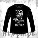 Long Sleeve  ALL MONSTERS ARE HUMAN 03