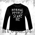 Long Sleeve  NORMAL PEOPLE SCARE ME 01