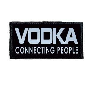 Naszywka VODKA CONNECTING PEOPLE