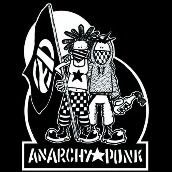 Bluza kangurka  ANARCHY & PUNK